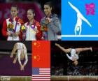 Artistic gymnastics balance beam LDN 12