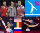 Artistic gymnastics women's floor LDN12
