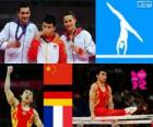 Gymnastics parallel bars London 2012