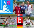 Men's canoe sprint K1 1000m London 2012