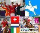 Individual jumping equestrian LDN 2012