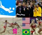 Women's Beach volleyball London 2012