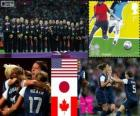 Women's football London 2012