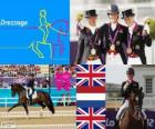Riding dressage individual London 2012