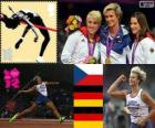 Women's javelin throw London 2012
