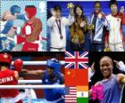 Women's flyweight boxing, London 2012