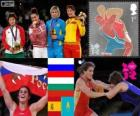 Women's freestyle 72 kg London 2012