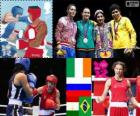 Women's lightweight boxing London 2012