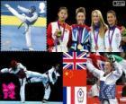 Taekwondo - 57kg women's London 2012
