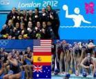 Women's water polo London 2012