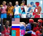 Women's boxing middleweight London 2012