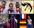 Hop pole vault men's London 2012