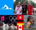 Men's 10 kilometre swimming London 2012