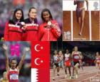 Women's 1500 metres London 2012
