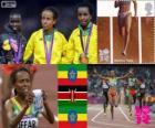 Women's 5,000m London 2012