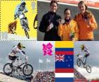 Women's BMX cycling London 2012