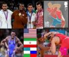 Men's freestyle 74 kg London 2012