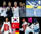 Taekwondo - 67kg women's London 2012