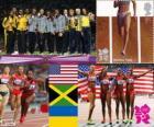Women's 4x100 m London 2012