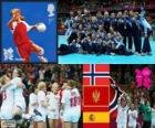 Women's handball London 2012