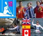 Men's canoe sprint K1 200m Londres 2012