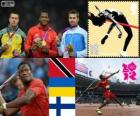 Men's javelin throw London 2012