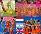 Women's field hockey London 2012