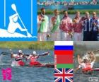 Men's canoe sprint K2 200m London 2012