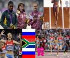 Women's 800m athletics London 2012