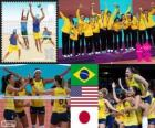 London 2012 women's volleyball