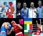 Boxing heavyweight -91kg men's LDN12