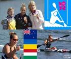 Women's canoe sprint K1 200m London 12