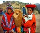 Inca traditional dresses