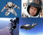 Felix Baumgartner jumping stratosphere