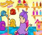 Polly Pocket in beauty salon