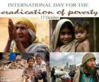 17 October, International Day for the Eradication of Poverty