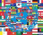 On 24 October is United Nations Day, UN Day, commemorating its founding in 1945