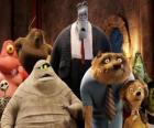 The most famous guests at the Hotel Transylvania