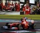 Fernando Alonso - Ferrari - 2012 Abu Dhabi Grand Prix, 2 nd classified