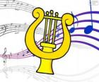 The harp is a stringed instrument