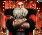 North, better known as Santa Claus. Character from Rise of the Guardians