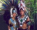 Aztec Prince and Princess