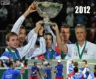 Czech Republic, champion of the Copa Davis 2012