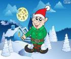 Santa Claus elf