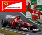 Felipe Massa - Ferrari - Grand Prix of Brazil 2012, 3rd classified