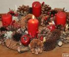 The Advent wreath, or Advent crown, is a Christian tradition that symbolizes the passage of the four weeks of Advent in the liturgical calendar of the Western church
