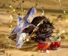 Several Christmas ornaments