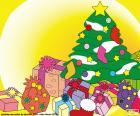 Drawing, Christmas tree