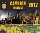 Club Atlético Peñarol champion of Torneo Apertura 2012, Uruguay