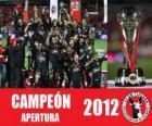 Xolos de Tijuana champion apertura 2012, Mexico